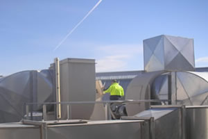 industrial fans onsite installation